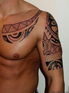 Maori polonaysian tattoo