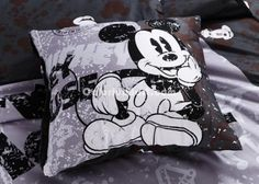 Mickey Mouse Black Disney Bedding Sets [101300700020] - $99.99 : Colorful Mart, All for Enjoyment