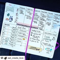 This weekly spread has absolutely everything for your bullet journal. Show me…