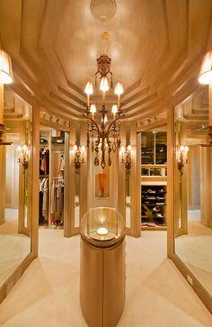 Amazing closet & dressing room interior design ideas and decor... organizing ideas..
