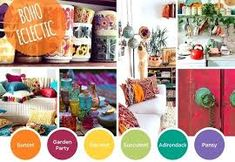 Boho colours