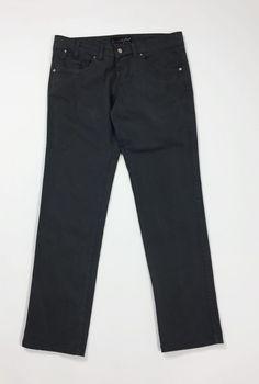 Xcape jeans pantalone donna usato slim stretch skinny W28 tg 42 grigio  T4428  5d9640aeede