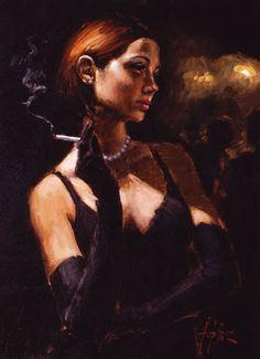 Fabian Perez art gallery, committed to offering great prices to the public. We specialize in Fabian Perez original paintings and limited edition prints. Paintings For Sale, Original Paintings, Original Art, Art Paintings, Illustrations, Illustration Art, Local Art Galleries, Women Smoking, Pulp Art