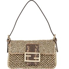 Fendi Mini Beaded Baguette Bag at Barneys.com