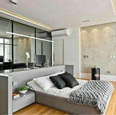 Give your bedroom a clean modern look and feel by adding recessed ...