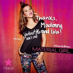 Sofia Richie stars in the Fall campaign for Madonna and Lola's Material Girl!