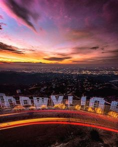 Hollywood Sign, Los Angeles, California by Andrew.C Photography Hollywood Hills, Hollywood Sign, California Dreamin', Los Angeles California, Hollywood California, San Diego, San Francisco, Nova Orleans, Nashville