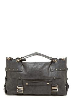 24413dc7ff Double Front Strap Satchel by Get Carried Away Satchel