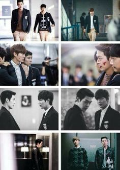 choi young-do and kim Tan fight The Heirs Kdrama, Heirs Korean Drama, Lee Min Ho Kdrama, Korean Dramas, My Love From Another Star, Doctor Stranger, Kang Min Hyuk, Kdrama Memes, Kim Woo Bin