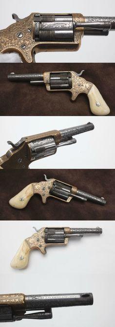 Brooklyn #Firearms Co Pocket Revolver , 1853 .