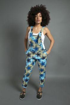 Latest Ankara Dungarees And Pinafore Dress For Women African Dresses For Women, African Print Dresses, African Attire, African Wear, African Women, African Prints, African Fashion Ankara, African Print Fashion, Africa Fashion
