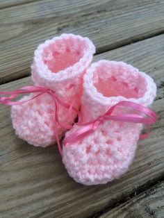 A personal favorite from my Etsy shop https://www.etsy.com/listing/253937569/crochet-newborn-booties-baby
