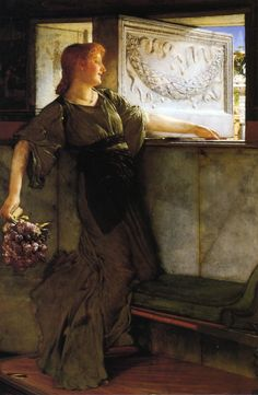 A Love Missle - Sir Lawrence Alma-Tadema