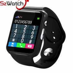 Cool Watches: Promo Offer SzWatch Smart Watch With Pedometer Camera SIM Card Call M Smart watch For Android xiaomi Smartphone Russia with Retail box Retail Box, Fitness Watch, Android Smartphone, Gym Time, Cool Watches, Smart Watch, Consumer Electronics, Russia, Smartwatch