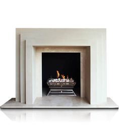 Art Deco Fireplace Art Deco Fireplace, Home Fireplace, Fireplace Remodel, Modern Fireplace, Fireplace Surrounds, Fireplace Design, Fireplace Makeovers, Fireplace Ideas, Fireplaces