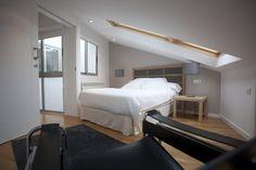 Catedral Suites - Apartamentos Turísticos en Santiago de Compostela, Galicia. Apartamento Cruceiro do Gaio, Ático