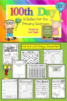 We are 100 days smarter! #100th Day of School