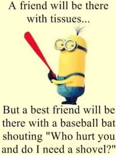 86 Funny Quotes Minions And Minions Quotes Images 8 Source by sherrieainley The post 86 Funny Quotes Minions And Minions Quotes Images Friendship Quotes appeared first on Quotes Pin. Funny Minion Pictures, Funny Minion Memes, Minions Quotes, Funny Jokes, Minions Images, Minions Pics, Funny Images, Despicable Me Quotes, Hilarious Pictures