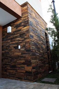 Filete de Pedra Ferro Irregular Grosso:   por DECOR PEDRAS PISOS E REVESTIMENTOS