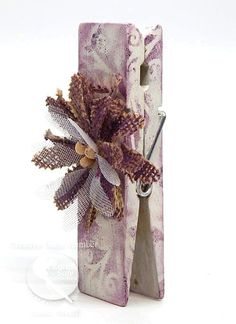 Chalk it Up Plum Preserves, Wooden Clothespins, Chalk It Up, Non Toxic Paint, Photo Holders, Easy Projects, Photo Cards, Allergies, Stencils