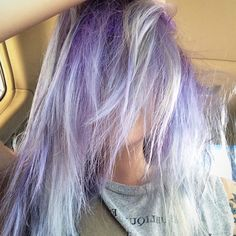 #purple #silver #hair #jazyee