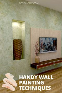 Check out 10 different wall painting techniques to give your home an instant makeover. Latest house painting tips for your living room, bedroom and ceiling. // wall painting // wall painting design // living room wall painting // home interior painting // creative wall painting techniques #painting #wallpainting #wallpaintingdesign #wallpaintingtechniques #homeinteriorpainting Bedroom Wall Paint Colors, Room Wall Painting, House Painting Tips, Creative Wall Painting, Wall Paint Colour Combination, Color Combinations Home, Unique Wall Decor, Painting Edges, Easy Paintings