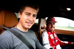 Peter Sagan with Fernando Alonso ♥