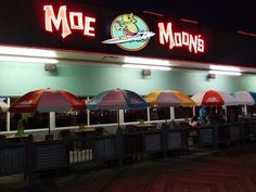 Moe Moons Bar And Grill Boardwalk Restaurant Review American Food Reviews In Myrtle Beach South Carolina