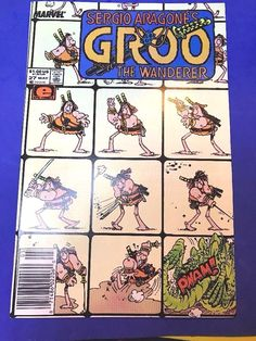 1987 Marvel GROO The WANDERER Series #27 Comics Book EPIC May Sergio Aragone's