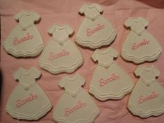 Personalized communion cookies