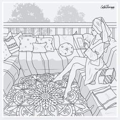 People Coloring Pages, Horse Coloring Pages, Cool Coloring Pages, Adult Coloring Pages, Coloring Apps, Coloring Books, Color Palette Challenge, Barbie Coloring, Penny Black Stamps