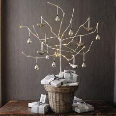 Natal idéias de embalagens em branco e cinza ♥ Коледни опаковки в бяло и сиво | 79 Idéias
