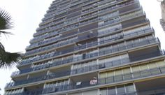 View of Las Palmeras 9th floor studio apartment