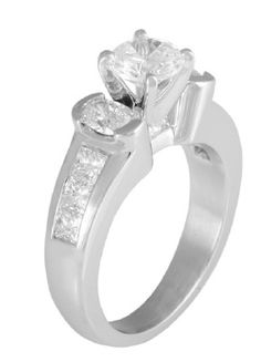 3300  1.15  Wedd ring885131121300  Available in 2 toneYes  Head ShapeAny Shape  Center SizeAny Size  MetalAny Metal  Sizing1.1/2 SIZE MAX  Wedding bandDIAW PLW 2.5x1  Ring Width mm6.5x2.8  Suggested Center1CT