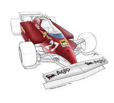 Ferrari 126 CK 1981 GIlles Villeneuve