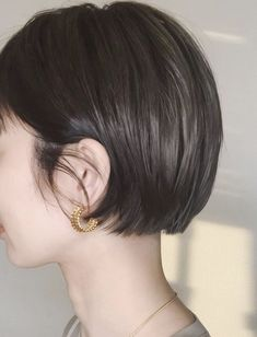 Pin on Hair Asian Short Hair, Short Hair Cuts, Hair Inspo, Hair Inspiration, Medium Hair Styles, Long Hair Styles, Bob Hairstyles For Fine Hair, Kids Hairstyle, Wedding Hairstyle