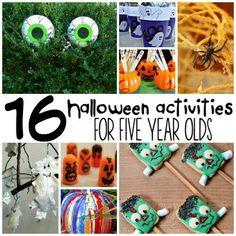 16 Halloween Activities For 3 Year Olds Halloween For