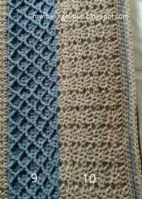 En hier is hij dan! Cross Stitching, Cross Stitch Patterns, Diy And Crafts, Weaving, Knitting, Crochet, Tweed, Groot Bed, Ibiza