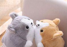 Corgi Plush, Corgi Dog, Corgi Funny, Cute Corgi, Doll Toys, Dolls, Kawaii Plush, Nursery Bedding, Animal Pillows