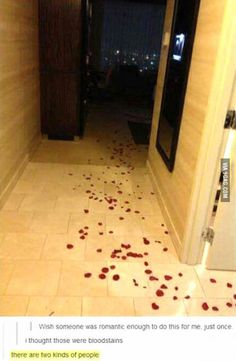 I saw them as rose petals.  I'm the kind of person like the one who commented first.