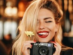 Find images and videos about girl, photography and hair on We Heart It - the app to get lost in what you love. Alexandra Burimova, Girls With Cameras, Photo Portrait, Girl Photography, Fashion Photography, Photo Poses, Hair Beauty, Photoshoot, Pictures