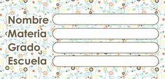etiquetas escolares para imprimir - Buscar con Google