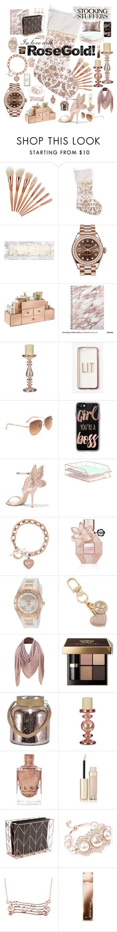 """In Love With Rose Gold!"" by ladydivaboss ❤️ liked on Polyvore featuring interior, interiors, interior design, home, home decor, interior decorating, Hanky Panky, Rolex, Missguided and Aé️️ropostale"