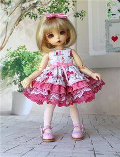 Очаровательные наряды для барышень. / Все для BJD / Шопик. Продать купить куклу / Бэйбики. Куклы фото. Одежда для кукол