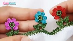 Elsa, Crochet Earrings, Flowers, Infant, Crochet Bow Ties, Daisies, Colorful, Made By Hands, Templates