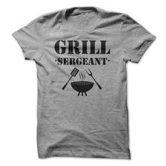 #tshirts... Cool T-shirts  Grill Sergeant T Shirt . (Cua-Tshirts)  Design Description: Army themed shirt design for those who love to grill.  If you do not completely love this design, you'll SEARCH your favourite one by means of the usage of search bar on th...