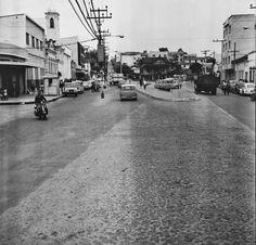 Maria do Resguardo: Avenida dos Andradas esquina com a Rua Paula Lima, em setembro de 1969 (foto autoria provável: Roberto Dornellas ou Jorge Couri).