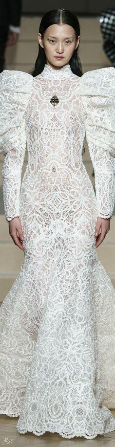 Spring 2019 Haute Couture Ashi Studio Dress Robes, Lace Dress, Dress Up, Ashi Studio, Bridal Elegance, Modern Fashion, Fashion Details, Formal Dresses, Wedding Dresses