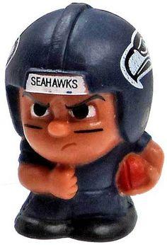 NFL TeenyMates Series 2 Running Backs Seattle Seahawks Minifigure