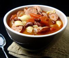 Italian Smoked Sausage Bean Soup